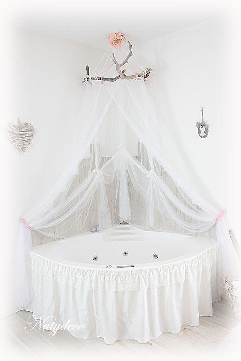 Ciel de lit pour baignoire
