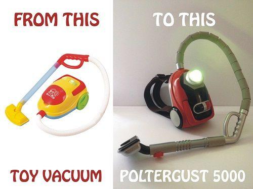 poltergust 5000 toy   Luigi's Mansion Ghost Vacuum