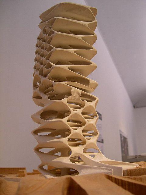 zaha hadid model, other aerial inspiration for aerial yoga (aeroyoga)