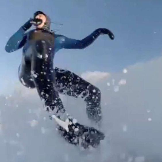 Perfekte Bedingungen bei -20 Grad: Surfen im sibirischen Eiwasser