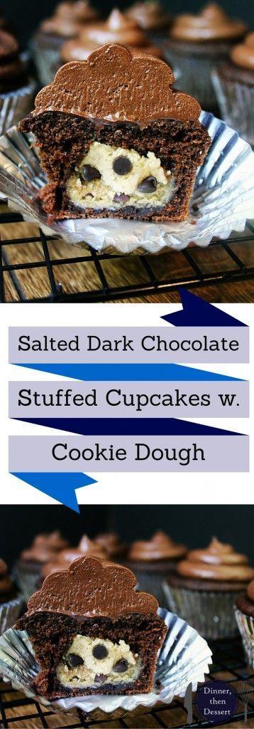 ... dark cupcake chocolate chips chocolate chips chocolate chip cookie
