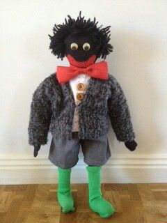 Golliwog I made for my sister 30 years ago.