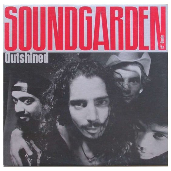 Soundgarden – Outshined (single cover art)