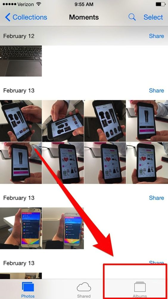 Recovering deleted pictures on iPhones