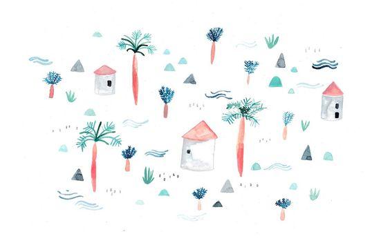 Juni Wallpaper von Sarah Neuendorf
