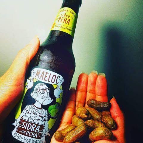 Bia Maeloc Sidra Pera 4% – Chai 200ml – Bia Tây Ban Nha Nhập Khẩu TPHCM