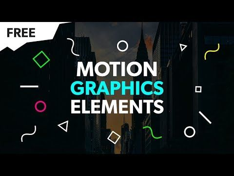 Motion Graphics Elements Pack Free Green Screen After Effects