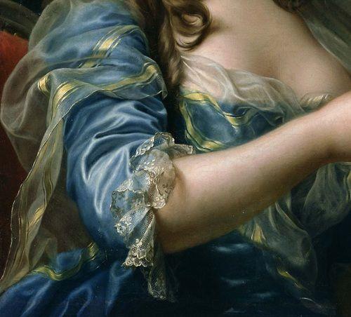 Marie-Gabrielle Capet (self portrait), c.1783 (detail)