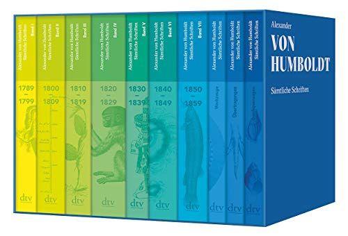 Sa Mtliche Schriften Studienausgabe Mtliche Schriften Studienausgabe Buchclub Bucher Bucher Von Humboldt