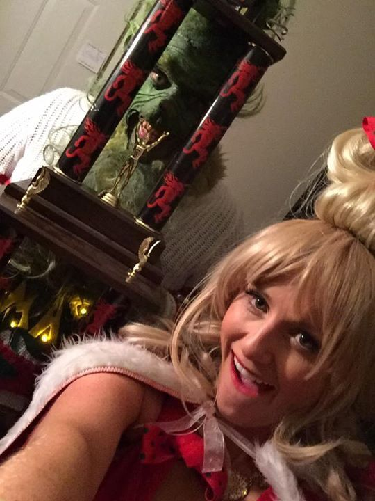 Grinch and Cindy Lou Who | Halloween Costumes | Pinterest | Cindy lou ...