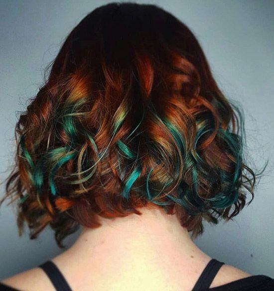 hidden hair color