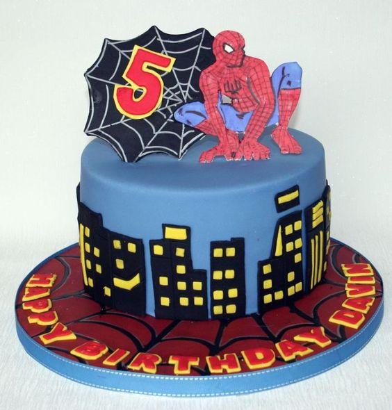 Idea 6 de cumple Spiderman by MundoMab