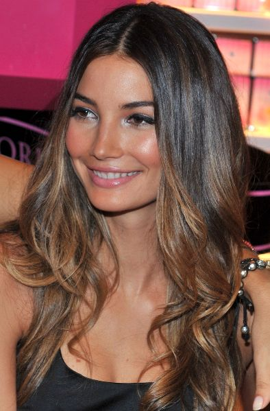 ombré look...I think this is what I'm getting ;)