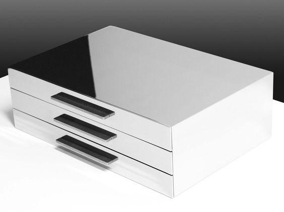 Cassiettara da tavolo   #arredamento #furniture #accessori #bagno ...