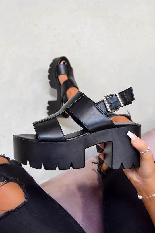 chunky platform sandals – AJ VOYAGE in