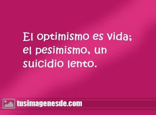 frases de optimismo: