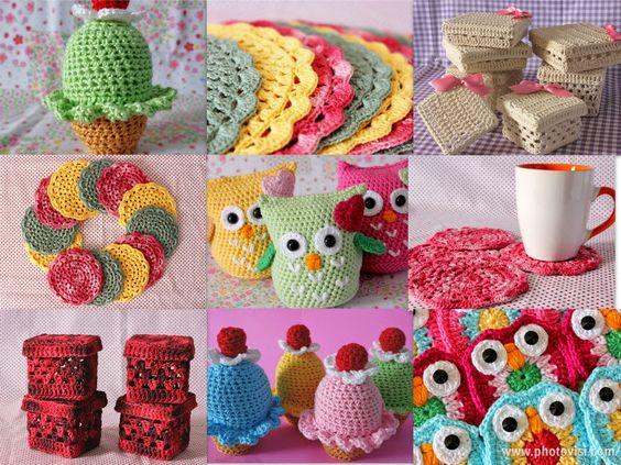 coisas lindas de croche - Pesquisa Google