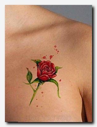 Red Rose Tattoo Hot Tattoo Red Rose Tattoo Rose Tattoo Neck Tattoo