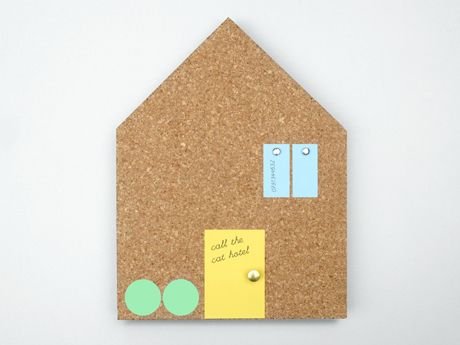 house cork board // present & correct