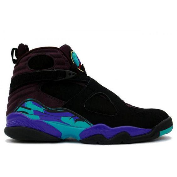 toms paillettes noires - 305381-041 Nike Air Jordan 8 Aqua Retro http://www.uxfoundry.com ...