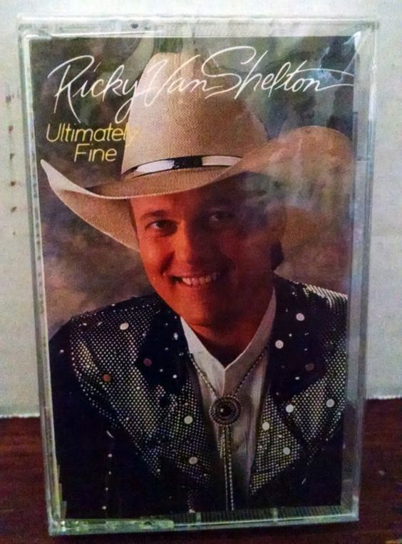 RICKY VAN SHELTON Ultimate Fine CASSETTE TAPE Country Music - http://music.goshoppins.com/cassettes/ricky-van-shelton-ultimate-fine-cassette-tape-country-music/