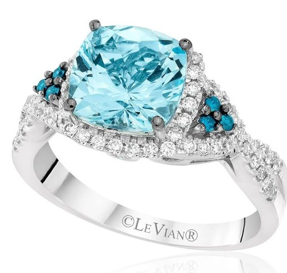 The color is perfect :) Le Vian is the best