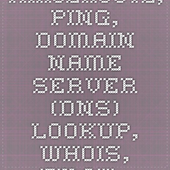 Traceroute, Ping, Domain Name Server (DNS) Lookup, WHOIS, Email Verification Tools trace www.stickergenius.com