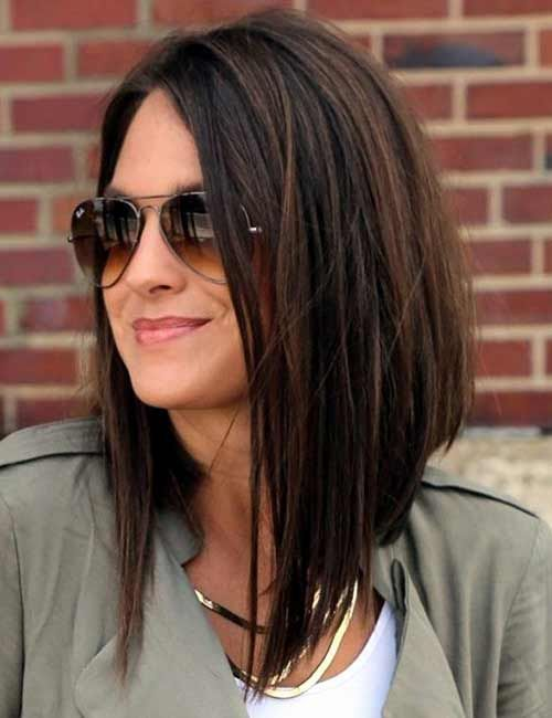 30 Beautiful Hairstyles For Shoulder Length Hair Long Bob Hairstyles Medium Hair Styles Hair Styles