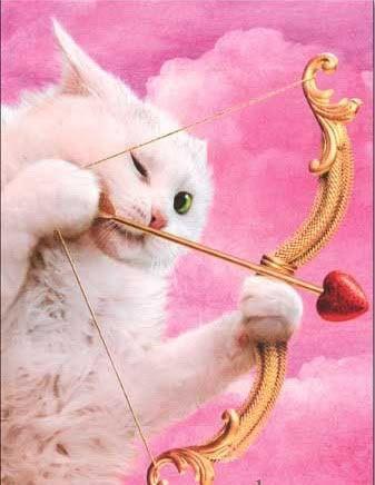 Valentine Kitty (valentine card from Avanti Press. Jani Tykka - Thom Lang -  Reunion des Musees Nationaux):