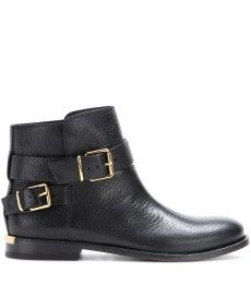 Burberry Brit - Kalina leather ankle boots