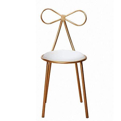 Egclj Nordic Wrought Iron Bar Chair Creative High Stools Casual