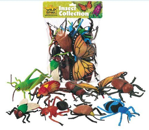 Wild Republic Polybag Insect 10 Pieces | Your #1 Source for Toys and Games