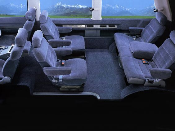 Nissan Vanette Largo Coach interior