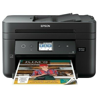 New In Box Epson Workforce Wf 2860 All In One In 2020