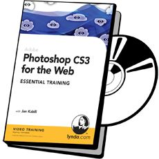 Photoshop CS3 for the Web by Jan Kabili on dvd