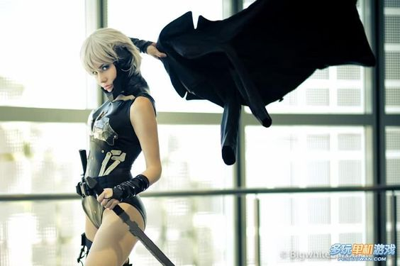 Female Raiden / Metal Gear Rising