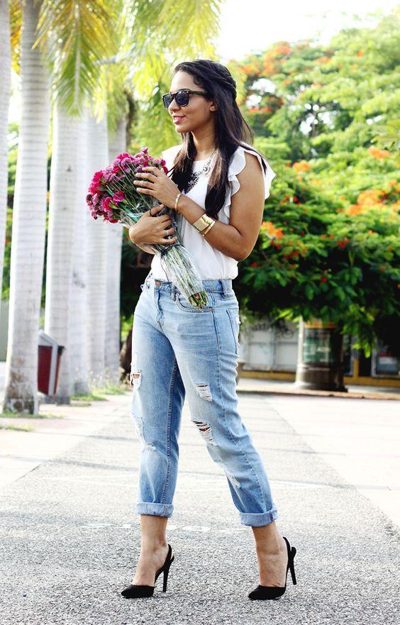 The Key Item, Dominican Fashion Blogger. le-boyfriend-jeans2
