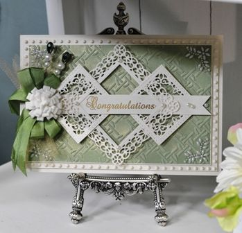 Wedding Card - All essential products for this project can be found on Crafting.co.uk - for all your crafting needs. - Crafting with Sue Wilson Learn how to create this really pretty and elegant buckle card technique in this episode of Crafting My Style with Sue Wilson. This is a really fun card to make, so tune in, sit back and enjoy! https://www.youtube.com/watch?v=e4oLdrmTDGs