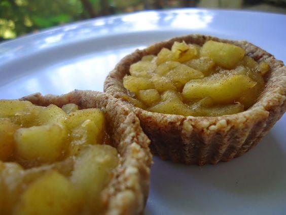 Tortinhas de maçã (sem farinhas,sem açúcar)
