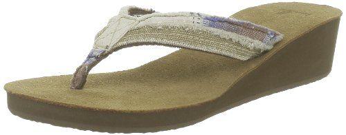 Sanuk - Womens Fraid Wedge Sandals, Size: 5 B(M) US, Color: Tan Stripes Sanuk,http://www.amazon.com/dp/B008B84EJG/ref=cm_sw_r_pi_dp_.rgbtb0KD9W6SG0P