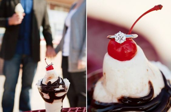 Super Sweet Engagement Ring Shots