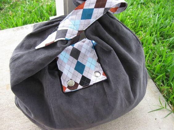 DIY: slouchy bag