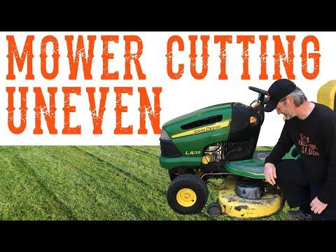 Check These 2 Simple Tips Before You Level The Deck On A Riding Lawn Mower Tractor Video Youtub In 2020 Lawn Mower Tractor Lawn Mower Repair Lawn Mower Maintenance