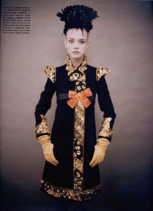 Natalia Vodianova Paolo Roversi Vogue Italia