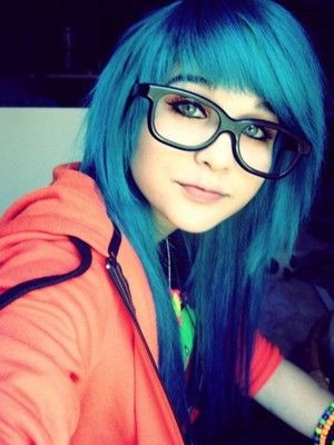 Fantastic Hair Emo Hair And Blue Hair On Pinterest Short Hairstyles Gunalazisus