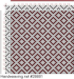 draft image: Page 121, Figure 7, Donat, Franz Large Book of Textile Patterns, 4S, 4T