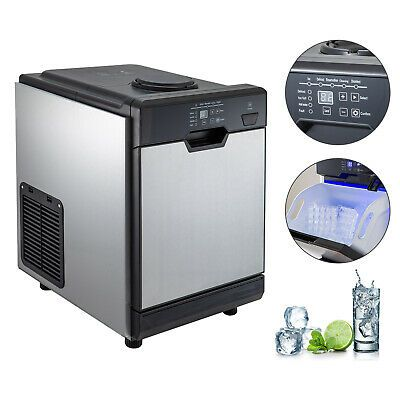 Ad Ebay Url 50kg 110lbs Ice Maker With Cool Water Dispenser Ice Scoop 2filters Rotation Door Ice Scoops Water Dispenser Ice Maker