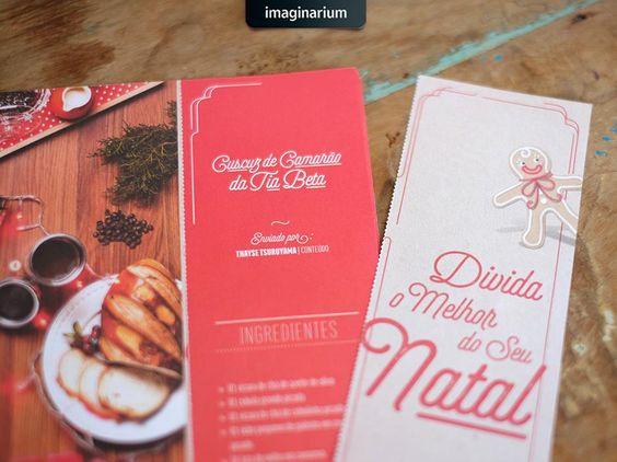 Já pegou seu catálogo de Natal? Então agora corra pro blog e aprenda a transformar as laterais destacáveis das páginas do catálogo num livrinho de receitas criativo e cheio de delicias: http://goo.gl/pEc2hl