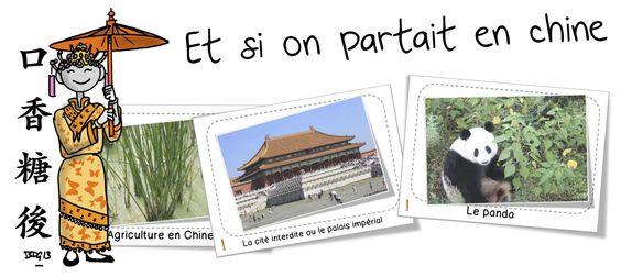 Et si on voyageait ...en Chine avec Loup ! - Bout de gomme