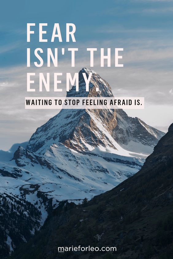 Is fear holding you back from starting your business, big idea or life change? Learn a simple habit to get started faster than ever. #startingabusiness #motivation #getgoing #successtip #overcomefear